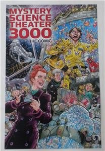 SDCC 2018 SIGNED Poster MYSTERY SCIENCE THEATER 3000 Todd Nauck Felicia Day Michael Heisler