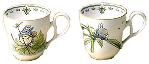 X Studio Ghibli Neighbor Totoro Pair Mug Cup - Noritake Y6896/9432-67