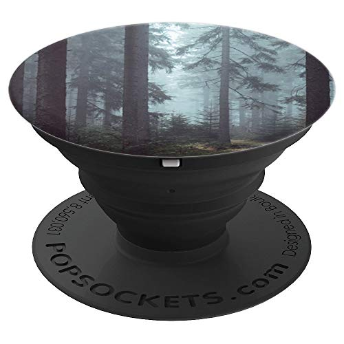 (Spooky Woods Halloween - PopSockets Grip and Stand for Phones and)