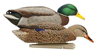 AvianX Top Flight Duck Back Water Mallard Decoy (6 Pack),