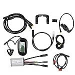 VGEBY-36V-250W-275-Pollici-KT-LCD6-Display-Meter-Mountain-Bike-Kit-di-conversione-Ruota-Elettrico-Elettrico-Accessorio-Prestazioni-stabili-Alta-affidabilit
