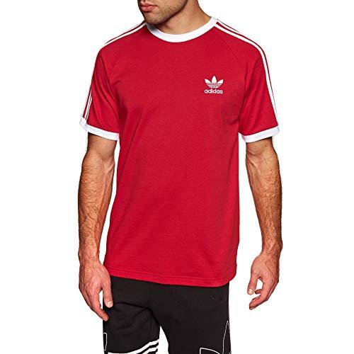 (adidas Originals 3-Stripes Tee Short Sleeve T-Shirt Small Power)