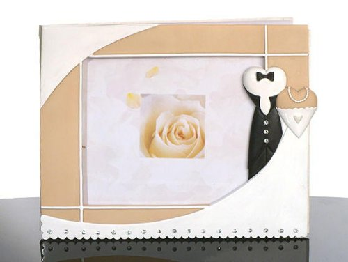Black Tie Collection Guest Book C439 Quantity of 1