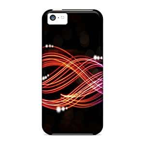 Durable Case For The Iphone 5c- Eco-friendly Retail Packaging(neon)