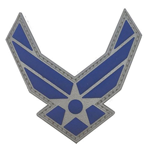 FULL-COLOR US AIR FORCE LOGO PVC PATCH (Air Force Patch)