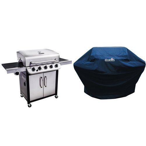 Char-Broil Performance 550 5-Burner Cabinet Liquid Propane Gas Grill