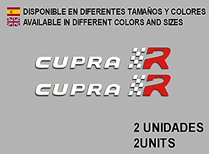 Ecoshirt 6P-KWE2-JWUR Autocollants en Vinyle pour Voiture Racing Sport Blanc Rouge
