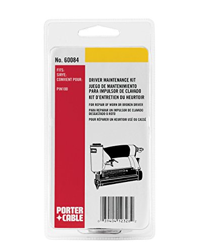 PORTER-CABLE 60084 Driver Maintenance Kit for PIN100