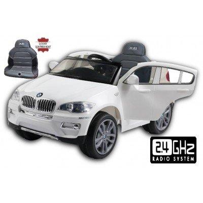 Coche eléctrico BMW X6 con control remoto 2,4 GHZ, 12 voltios. MODELO