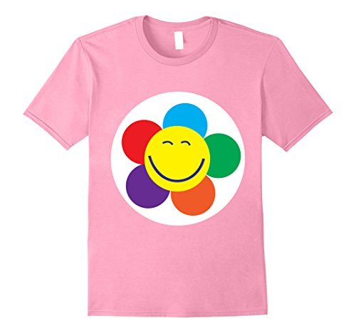Care Bear Family Costume (Mens Care Flower Bears Halloween Group Costume TShirts Small Pink)