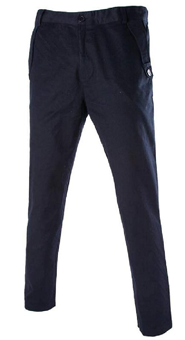 YYear Mens Slim Fit Flat Front Stretch Ultimate Performance Cotton Chino