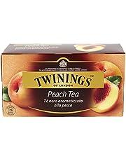 Twinings Peach Flavoured Tea, 25ct