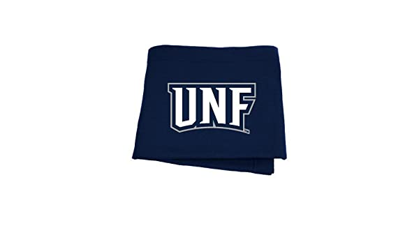CollegeFanGear North Florida Navy Twill Button Down Short Sleeve UNF Monogram