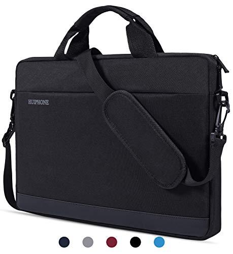 12.3-13.3 Inch Laptop Shoulder Bag Compatible with MacBook Pro/Air, Acer Chromebook R 13,HP Spectre x360 13.3, Google Pixelbook,Samsung Chromebook Plus/Pro, ASUS, Dell, HP, 13 inch Laptop Bag for Men