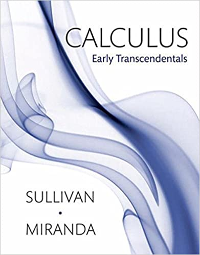 Calculus early transcendentals michael sullivan kathleen calculus early transcendentals 1st edition fandeluxe Gallery