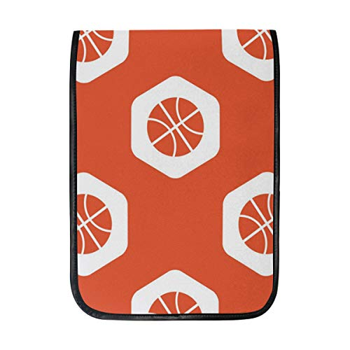 12 Inch Ipad IPad Pro Laptop Sleeve Canvas Notebook Tablet Pouch Cover for Homeschool, Travel, Etc Autograph Red Basketballs