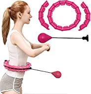 Exercise Fitness Hoops Weighted Smart Hoola Hoop Fitness Hoola Hoop 24 Sections Detachable Hoola Hoop Exercisi