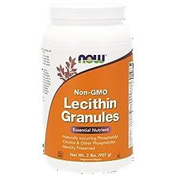 NOW Lecithin Granules, 2-Pound