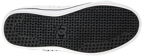 DC Shoes Notch B Shoe Wht - Zapatillas para niños Blanco
