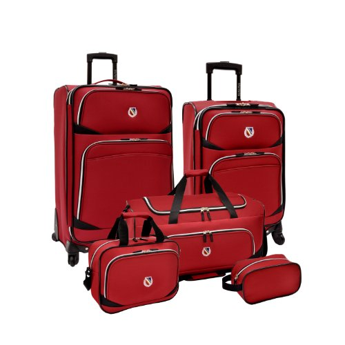 beverly-hills-country-club-san-vincente-5-piece-spinner-luggage-set-red
