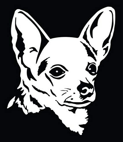 """CHIHUAHUA Love Funny Vinyl Decal Sticker Car Window laptop tablet netbook 9/"""""""