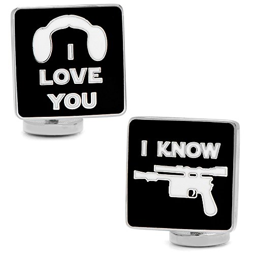 Star Wars Love Know Cufflinks
