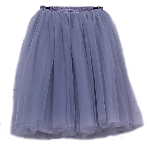 Puffy couche Costume Ballet Adulte Luxueux Multi Jupe Danse Gris FOLOBE Tutu Ballet HIq1apA