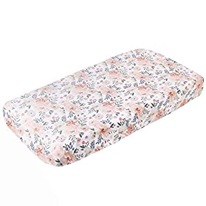 """Premium Knit Diaper Changing Pad Cover""""Autumn"""" by Copper Pearl"""
