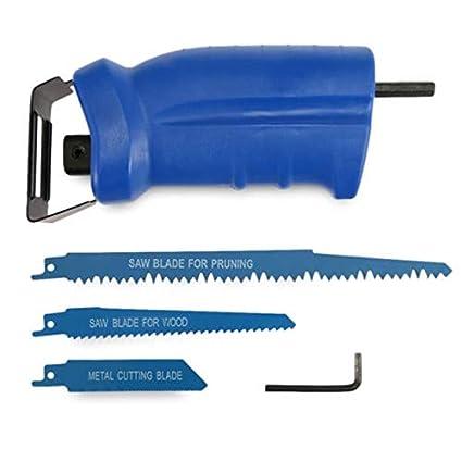 Saw Tool - 350w Reciprocating Saw Adapter Metal Cutting