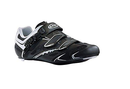 NORTHWAVE SONIC SRS Rennradschuh Schuhe SPD LOOK white-black