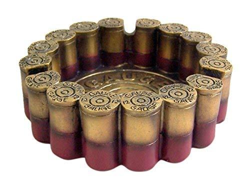 12 Gauge Shotgun Shell Round Ashtray 4.5