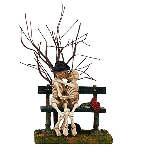 Department 56 Halloween Accessories for Village Collections Kiss of Death Figurine, 5.71-Inch, Multicolor