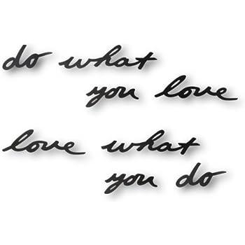 Umbra Mantra Wall Decor Phrase, Do What You Love