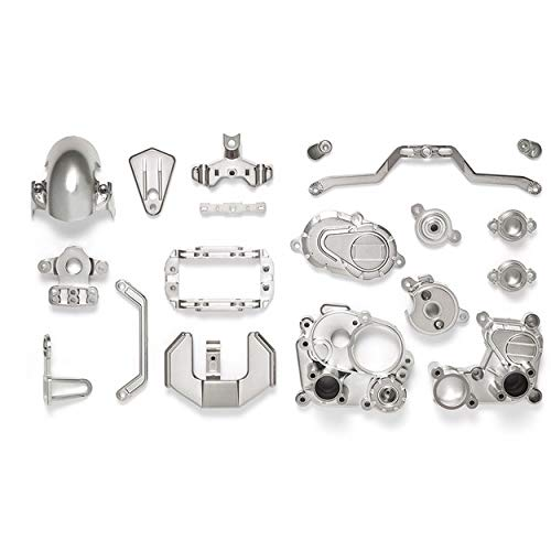 Tamiya 54821 (OP1821) T3-01 A Parts (Gearbox) (Semi-Gloss Chrome Plated)