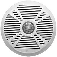 POLY PLANAR (2 PACK) PolyPlanar MA7065 6.5 2-Way Marine Speaker w/2 Grills - White & Graphite / PCK#2XMA7065 /