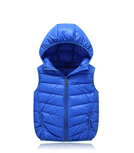 Children Lemonkids;® Winter Kids Jacket Outwear Lightweight Hooded Royalblue Vest Chic SU1Ux4qdwg