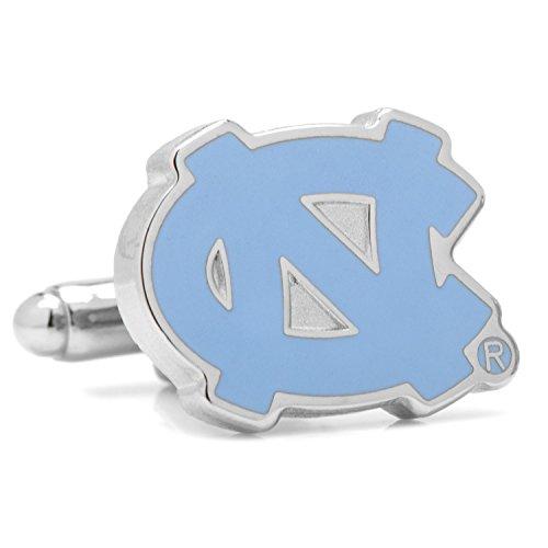 University of North Carolina Tarheels Cufflinks Novelty 1 x 1in - Bullet Logo Belt Buckle