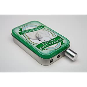 Audiophile CMOY headphone amplifier usa made with high quality parts-Newman's Polar Bear Tin