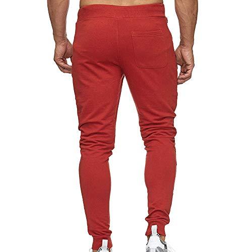 Pour Amuster Petits Hommes À Élastique Rayé Pieds Rouge Mode De Sport Mixte Pantalons Couleur La Séchage Avec Slim Rr8wRSfq