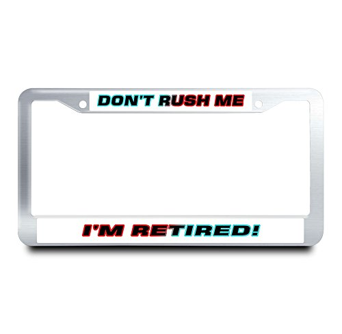 usaf retired license plate frame - 7