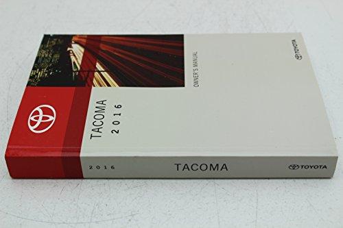 2016 Toyota Tacoma owners manual