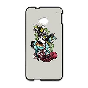 HTC One M7 Cell Phone Case Black Saint Who AEX Rubber Cell Phone Covers
