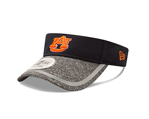 NCAA Auburn Tigers Adult NE16 Training Visor, One Size, Navy by New Era