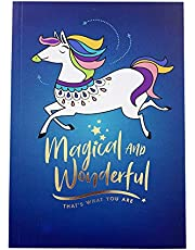 The Paper Stone NB-21 Notebook - Magical Ponies Navy