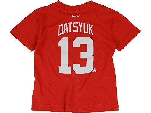- Pavel Datsyuk Detroit Red Wings #13 Toddler Home Name And Number T Shirt (2T)