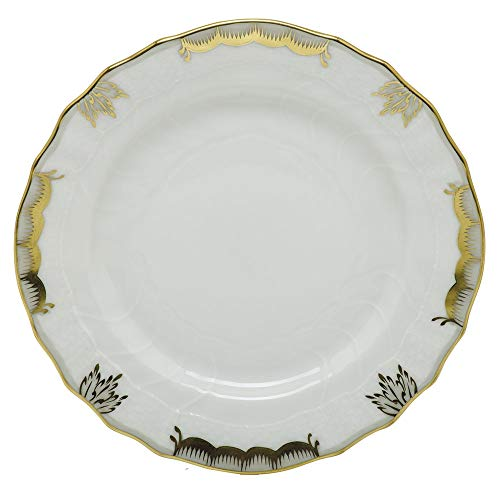 Plate Bread Princess - Herend Princess Victoria Gray Porcelain Bread and Butter Plate