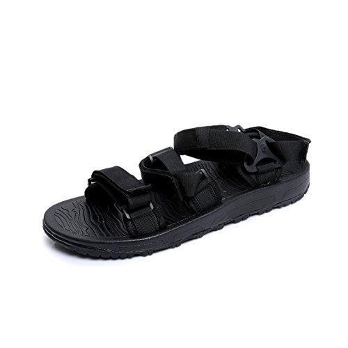 Sandalias de goma con velcro de verano/Sandalias abiertas gruesas del dedo del pie B