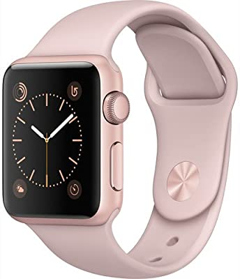 Apple Watch Series 1 Smartwatch 38mm Rose Gold Aluminum Case, Pink Sand Sport Band (Newest Model) (Refurbished) - 10156879 , B06VSJWD2R , 285_B06VSJWD2R , 4891923 , Apple-Watch-Series-1-Smartwatch-38mm-Rose-Gold-Aluminum-Case-Pink-Sand-Sport-Band-Newest-Model-Refurbished-285_B06VSJWD2R , fado.vn , Apple Watch Series 1 Smartwatch 38mm Rose Gold Aluminum Case, Pin