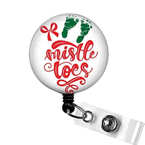 Childbirth Educator Gift Uterus Felt Badge Clip L/&D Nurse Badge Reels Retractable ID Badge Holder BadgeBlooms OB Nurse Gift Set