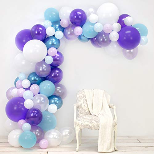 Junibel Balloon Arch & Garland Kit | Lavender,